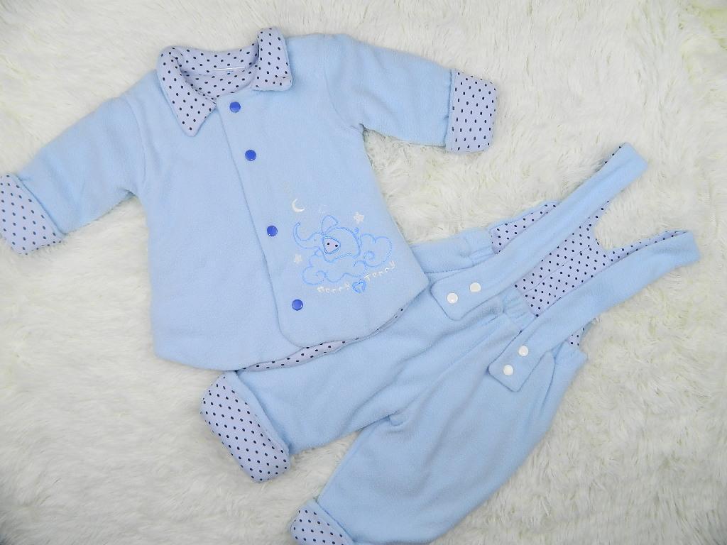 Куртка с полукомбинезон для новорожденных Cloudlet