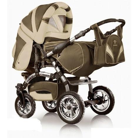 Коляска-трансформер Trans Baby Prado Lux 921/CR Beige-Cream (921/CR)