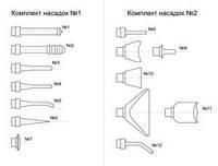 Комплект световодных насадок №2 5 шт