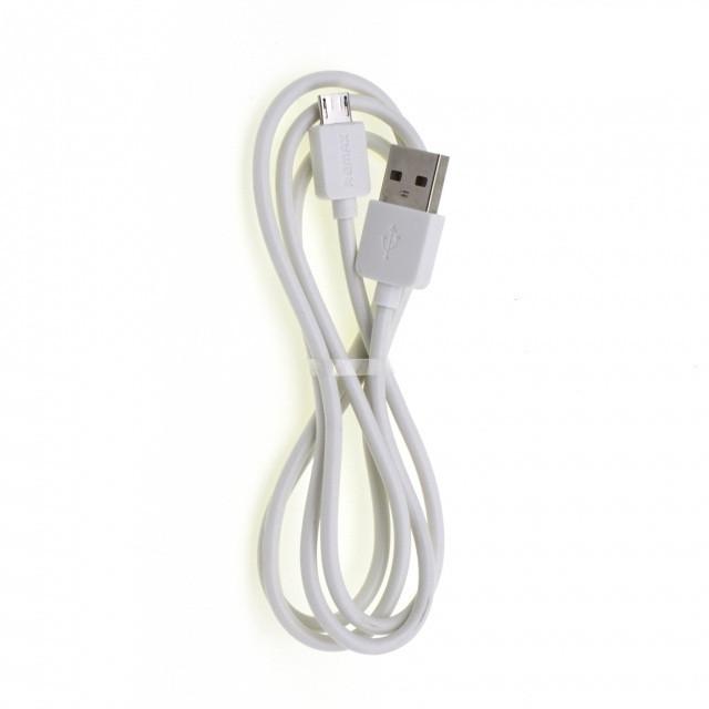 Кабель Remax RC-006m Light Speed microUSB-USB 1m White (RC-006m)