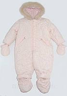 Комбинезон детский для девочки (для крупных девочек) на рост 74 см и 86 см, бренд Twiddy