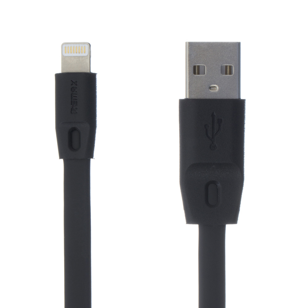 Кабель Remax RC-001I Full Speed Lightning-USB Black (RC-001I)