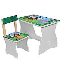 Столик Bambi 504-11 Zoo White (504-11)