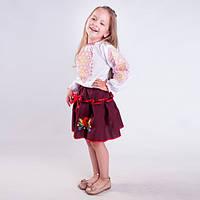 Вышиванка блузка для  девочки  орнамент, фото 1