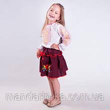 Вышиванка блузка для  девочки  орнамент