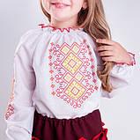Вышиванка блузка для  девочки  орнамент, фото 2