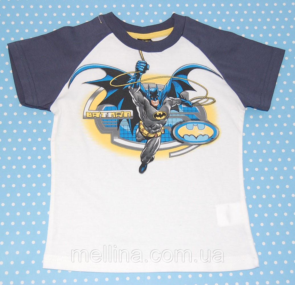Футболка детская для мальчика Batman для мальчиков с ростом 98 см, бренд Prenatal