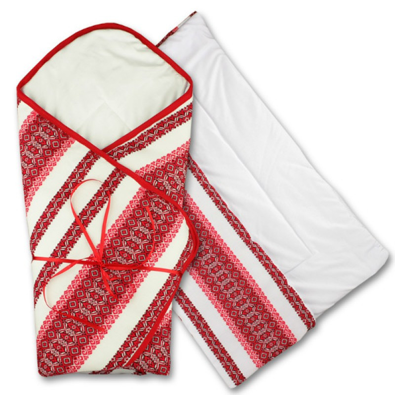 Демисезонный конверт одеяло для новорожденных Broidery