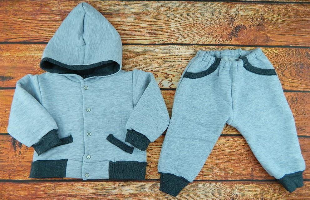 Детский теплый спортивный костюм Trendy