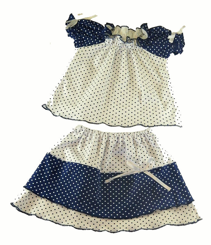 Комплект юбка и кофточка для девочки Диана на рост 86 см