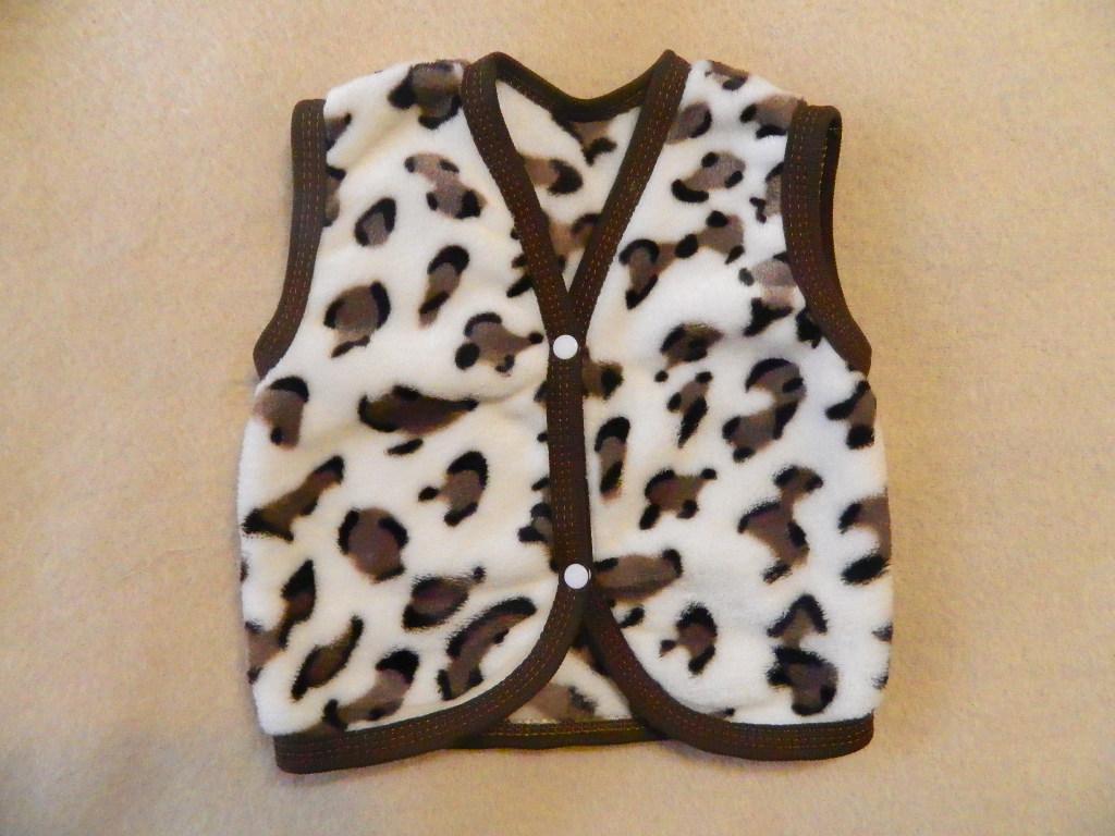 Детская жилетка махровая Vest
