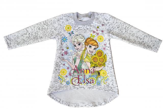 Туника детская для девочки Анна и Эльза