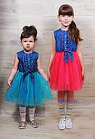 Летнее платье для девочки Балерина