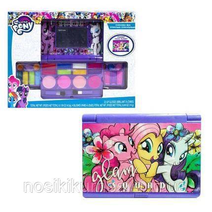Игровой набор детская косметика My little pony - косметичка, тени, румяна, блеск