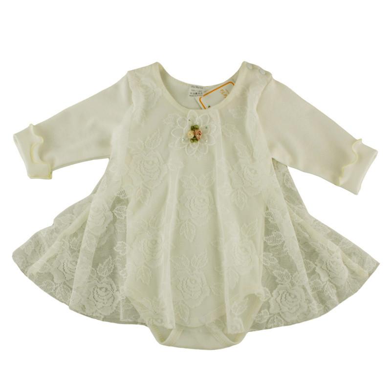 Боди - платье для девочки Silk