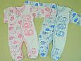 Комбинезон для новорожденного, на рост 68 см., для мальчика и для девочки, фото 2
