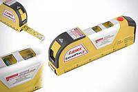 Лазерный уровень EASY FIX Laser Level Pro PRO 3 со встроенной рулеткой ( Art №3520 )