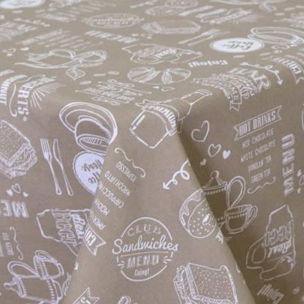 Готовые шторы Breakfast beige (2 шт), фото 2