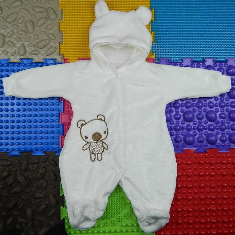 Махровый комбинезон для новорожденного Коала