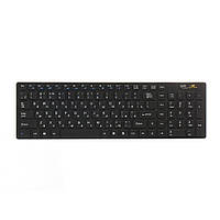 Комплект беспроводной ZBS Wireless Keyboard with Russian language Black (KeyboardRL)