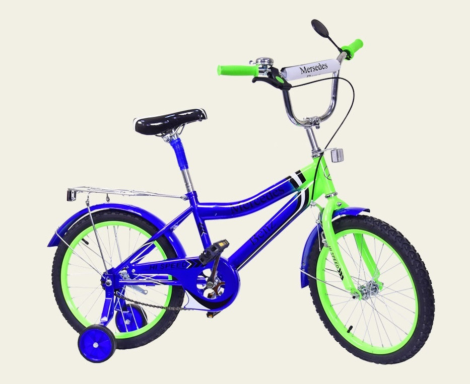 "Велосипед DT 18"" Blue-Lime Green (171833)"