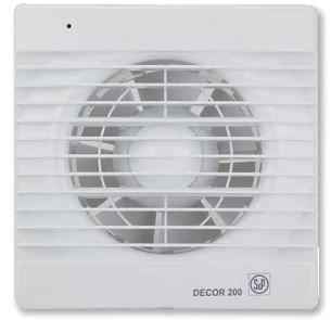 DECOR-200 S *230V 50*  Бытовой осевой вентилятор