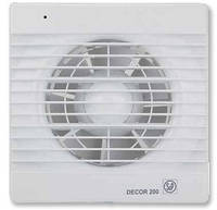 DECOR-200 C *230V 50*  Бытовой осевой вентилятор