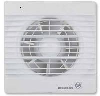 DECOR-200 CZ *230V 50*  Бытовой осевой вентилятор