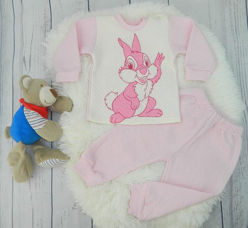 Тёплый костюм для девочки Bunny на рост 68 и 86 (см.)