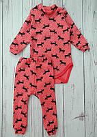 Тёплый комплект для девочки, детский костюмчик Starlet