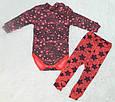 Тёплый комплект для девочки, детский костюмчик Starlet, фото 3