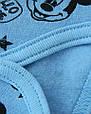 Комплект детский теплый Мышонок для мальчика, теплый костюмчик с бодиком и штанишками, фото 2