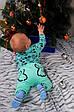 Комплект детский теплый Мышонок для мальчика, теплый костюмчик с бодиком и штанишками, фото 4