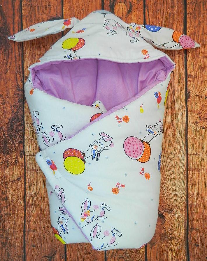 Зимний конверт для новорожденного Funny-Bunny