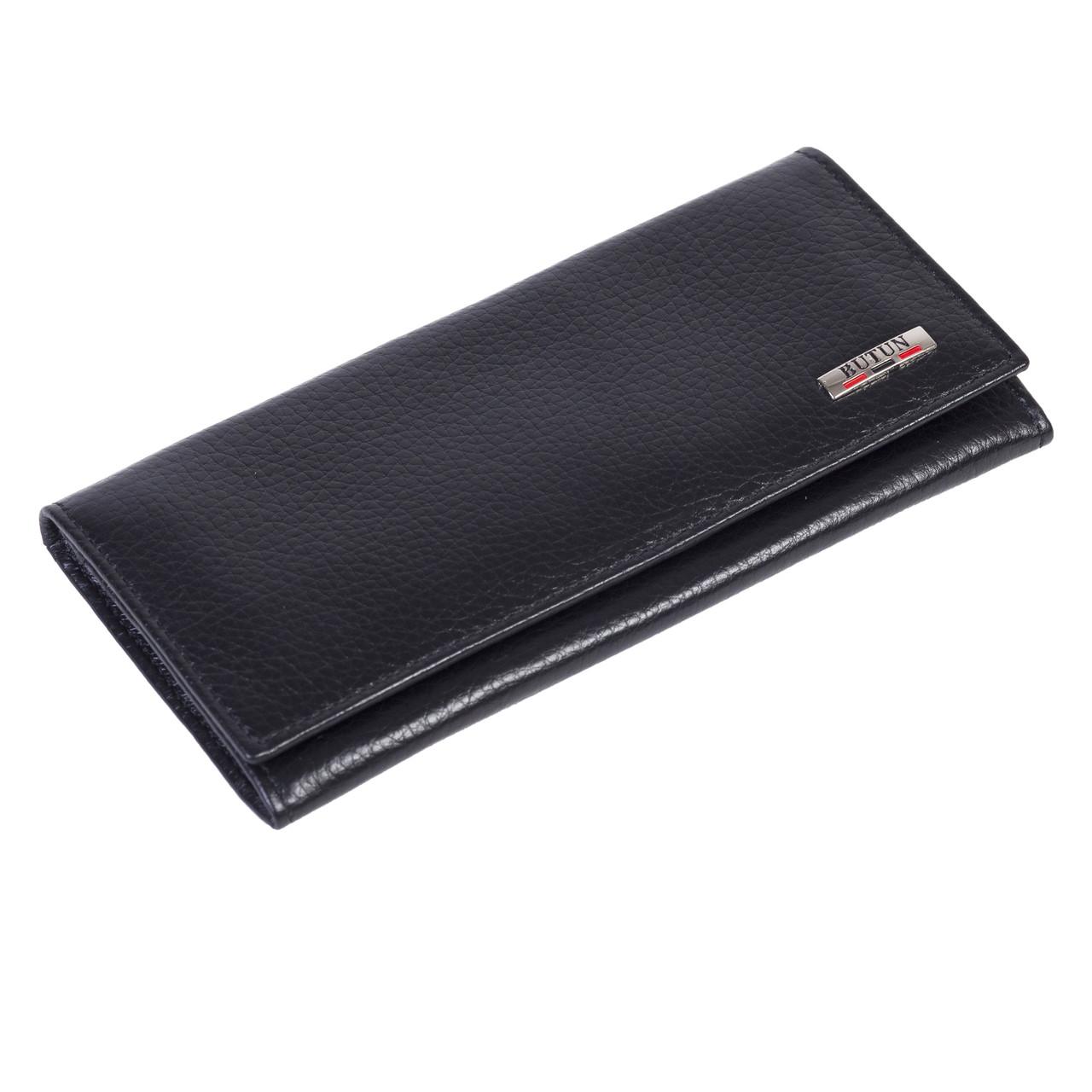 Женский кошелек Butun 567-004-039 кожаный черный