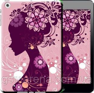 Чехол на iPad mini 2 (Retina) Силуэт девушки , фото 2