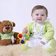 Человечек детский флисовый Little Mister, салатовый на 56 см, фото 2