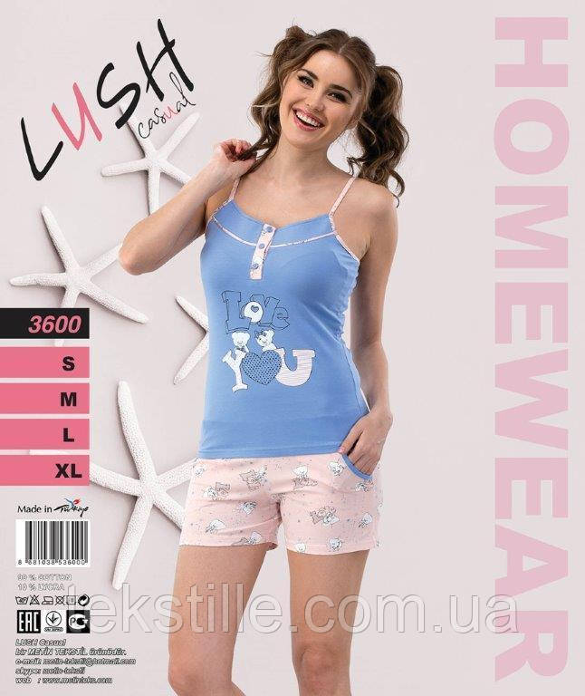 Пижама женская Шорты LUSH