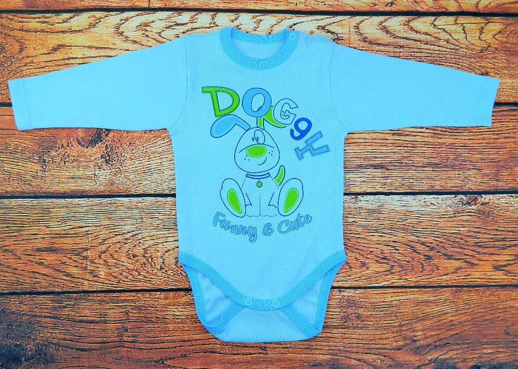 Детский боди для мальчика Doggy