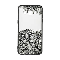 Накладка для Samsung Galaxy J120 J1 Rock Tatoo Art Case Fantasy Flowers