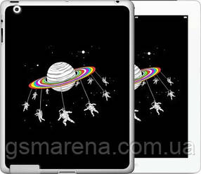 Чехол на iPad 2/3/4 Лунная карусель