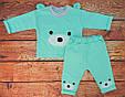 Комплект одежды для мальчика бирюзовый Курносик, фото 2