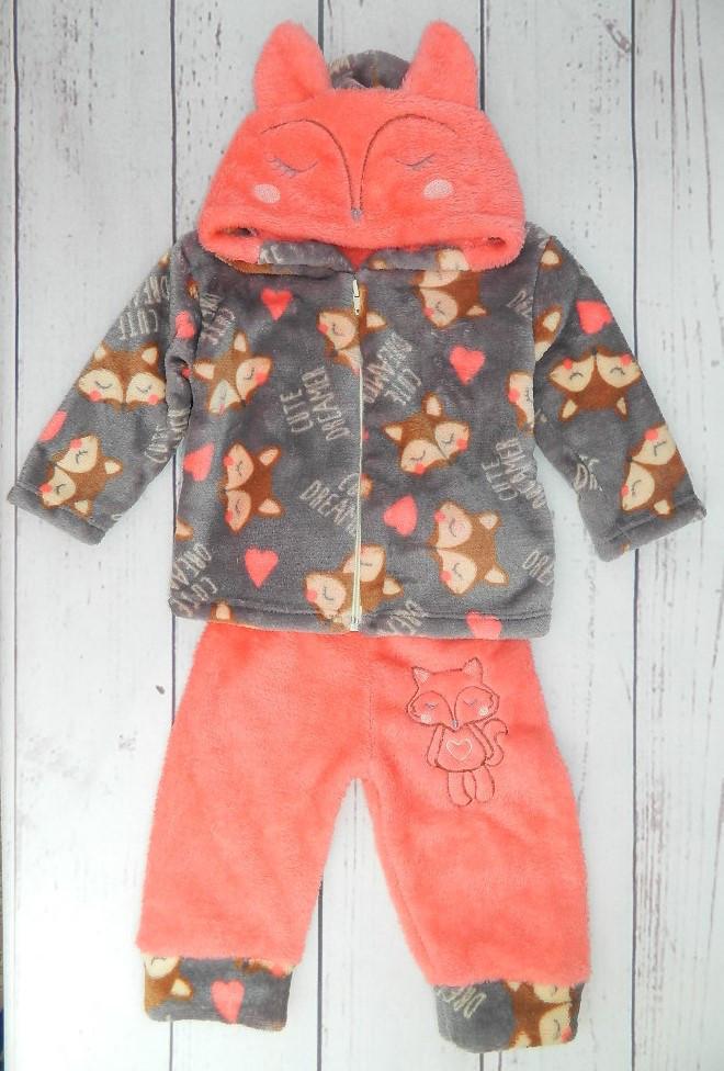 Детский костюм из махры Лисица на рост 80-86 см