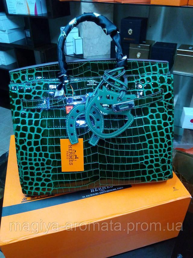 8800c83b0dfa РУЧНАЯ РАБОТА. Кожа Alligator. Женская сумка от Hermes Birkin 35 см ...