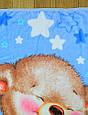 Детский махровый плед для новорожденного мальчика - 1523, фото 2