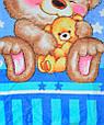 Детский махровый плед для новорожденного мальчика - 1523, фото 3