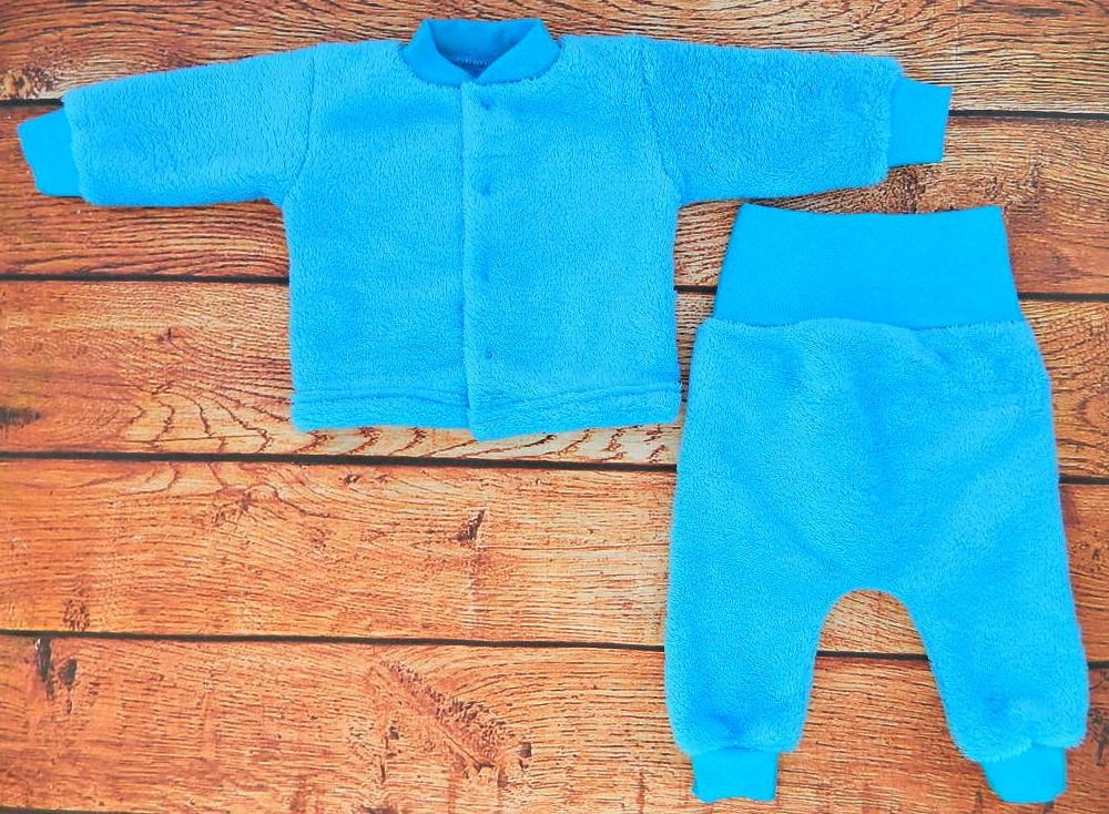 Детский махровый костюм для мальчика от 0 до 1 года - 0527
