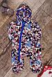 Плюшевый комбинезон с капюшоном для мальчика, код 1621, фото 2
