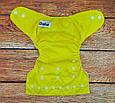 Многоразовые  подгузники непромокаемые Желтый, фото 2