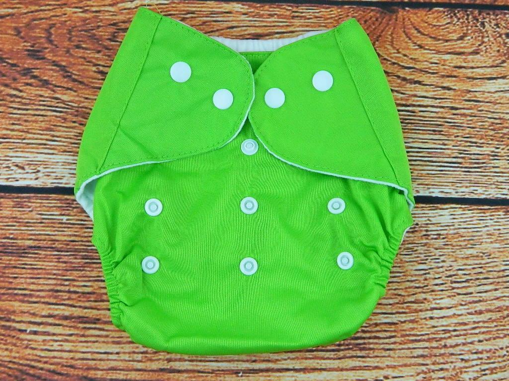 Многоразовые подгузники непромокаемые Зеленый